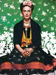 Frida's fab clothes were locked away after her death. This is seriously amazing. via @WhoWhatWear