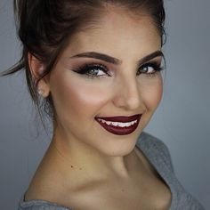 Dark & sultry makeup - heidimakeupartist's photo on Instagram
