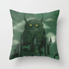 Age of the Giants - Where the Wild Things Are-inspired Throw Pillow from Society 6 - $20
