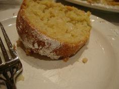 Coconut-Lemon cake. Yum!
