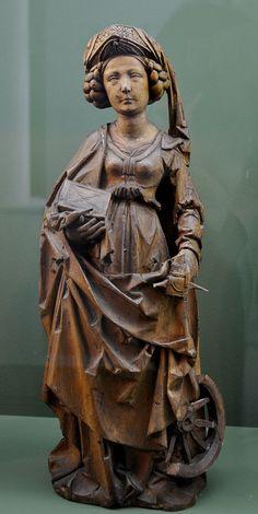 Hl Katharina Riemenschneider-Umkreis Salzburg Museum - Category:Tilman Riemenschneider - Wikimedia Commons