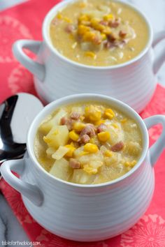 Crockpot Corn and Potato Chowder--How to make it kosher? Need to figure this out because it looks delicious.