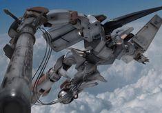 Japanese Robot, Super Robot, Mechanical Design, Game Design, Gundam, Fighter Jets, Sunrise, Artwork, Anime
