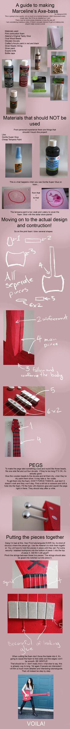 Marceline's Axe-Bass GUIDE by Marianis2305.deviantart.com on @deviantART