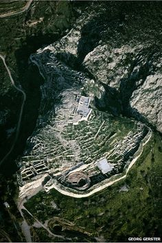 The Citadel at Mycenae: About 1400 BC Viking-like Greeks from Peloponnesian Mycenae and elsewhere on the Greek mainland torched most of the major palatial centres of Crete. Thanks to these fires, samples of the earliest Greek texts were accidentally preserved, written in a script eventually to be deciphered in the 1950s.