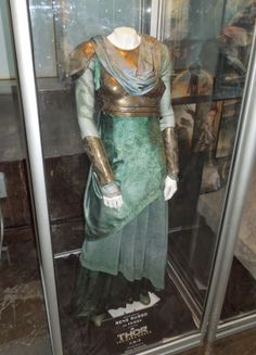 Original costume worn by Rene Russo as Frigga in Thor: The Dark World