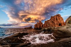 Rocce Rosse - II by DaniloAtzori. Please Like http://fb.me/go4photos and Follow @go4fotos Thank You. :-)