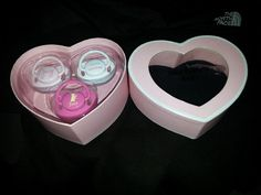 NIB JUICY COUTURE BABY PACIFIERS RETAIL $48.00 GREAT GIFT IDEA  #JuicyCouture #3pack