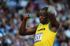 In This Photo: Usain Bolt  Usain Bolt of Jamaica looks on after competing in the Men's 200m Semifinals on Day 12 of the London 2012 Olympic Games at Olympic Stadium on August 8, 2012 in London, England.  (August 7, 2012 - Source: Stu Forster/Getty Images Europe) - http://www.PaulFDavis.com/success-speaker (info@PaulFDavis.com)