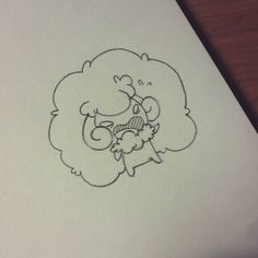 Whimsicott is pure evil #pokemon #fanart #nintendo #evil #sketching #sketchbook #sketch #doodle #doodling #draw #drawing #characterdesign #character #whimsicott #sheep #anime #manga #cartoon #rpg #illustration #videogame #illustrator