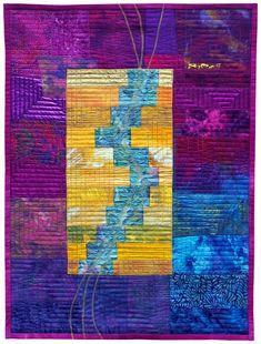 Confidence | Ineke van Unen - art quilts - textile art