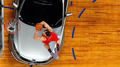 the blake griffin over a car