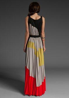 BCBGMAXAZRIA RUNWAY Printed Maxi Dress. gysele cris Almeida · Striped Maxi  dresses 345584523