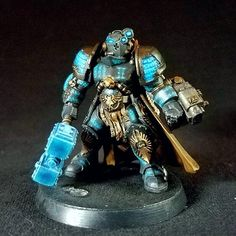 GK paladin kitbashed out of a space janitor