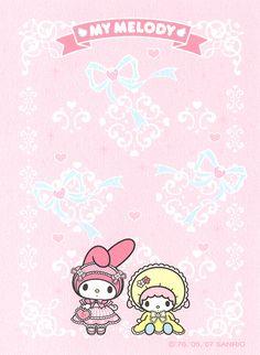 "Sanrio My Melody ""Lolita"" Mini Memo (Sheet) (1) | crazysugarbunny | Flickr"
