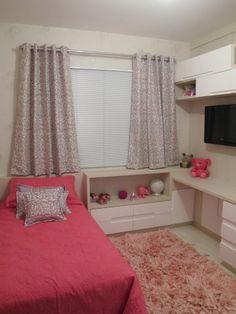 quarto pequeno solteiro decoração - Pesquisa Google
