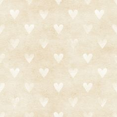 Shabby Chic Cream Hearts 5' x 7'