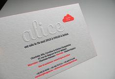 Badcass Débossage 2 couleurs R° et gaufrage + couleur fluo sur tranches sur papier 500g.