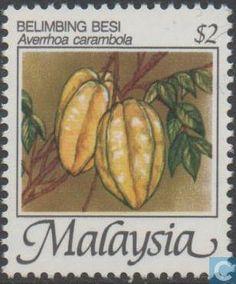 1986 - Malaysia - Fruits