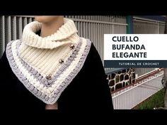 New crochet scarf tutorial neck warmer ideas Crochet Scarf Tutorial, Crochet Poncho, Crochet Scarves, Diy Crochet, Hand Crochet, Crochet Neck Warmer, Diy Scarf, Earring Tutorial, Neck Scarves