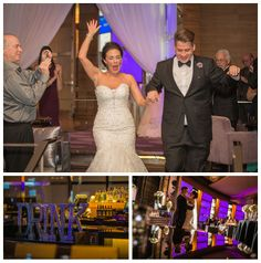 Las Vegas Wedding Planner, purple and silver wedding, lace wedding shoes, purple bridesmaid dresses, lucite vases, lily bouquet, poolside wedding, round white riser, orchid accents, mariachi band, purple lounge furniture, purple uplights, silver glitter letters, sheer white draping
