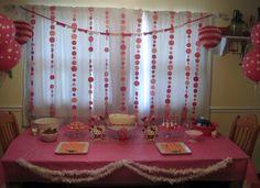 "Photo 1 of 40: Hello Kitty / Birthday ""Hello Kitty 4th Birthday"" | Catch My Party"