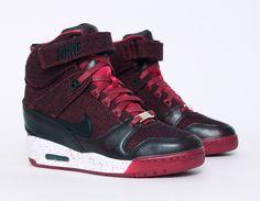 #Nike Air Revolution Sky Hi  #London #Wedge #Sneakers