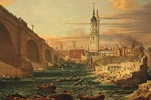 London Bridge marked the outer reaches of the Pool of London