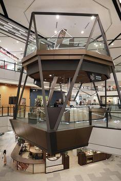 Mall Design, Kiosk Design, Retail Design, Architecture Model Making, Architecture Design, Commercial Design, Commercial Interiors, Shopping Mall Interior, Airport Design
