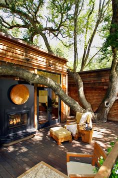Calistoga Ranch Calistoga, California Lodges are streamlined and range from 1,200 to 2,400 square feet. #Jetsetter