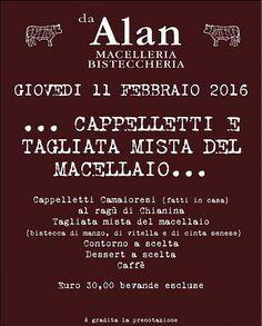 ...Cappelletti e tagliata mista del macellaio...