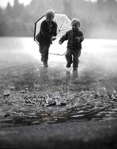 puddles..