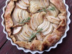 I'm making this Rosemary Apple Honey Gallette for Rosh Hashana / hubby's birthday dinner.