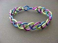 Custom Braided Wire Bracelet - Choose Your Own Colors via Etsy by melva
