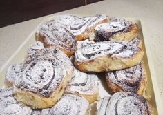 Pihe puha kakaós csiga 🐌 recept foto Baking And Pastry, Bread Rolls, Cakes And More, Bagel, Bread Recipes, French Toast, Recipies, Deserts, Muffin