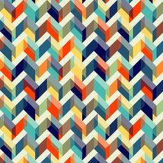 Gilmorish zigzag cloud pattern I created on Patterncooler.com - Have fun with this easy-to-use yet powerful free resource applying your own colors and textures to 10,000s of beautiful downloadable pattern designs. Whether you are a professional designer or just someone wanting a new background for your twitter profile, you may be very glad you stumbled on this unique project by Harvey Rayner #pattern #chevron #geometric #seamless