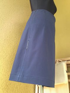 upper palatinate rocks: WOMEN 2014 skirt A-line dark blue