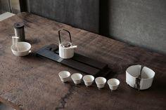 ~ tea ~ Asian Tea, Tea Design, Tea Culture, Tea Brands, Tea Tray, Wood Stone, Chinese Tea, Coffee Set, Ceramic Design