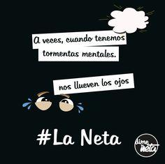 Se vale llorar... #LaNeta #FrasedelDía
