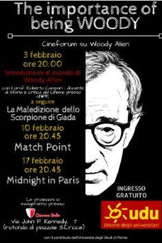 """The Importance of Being Woody"", gli studenti dell' UDU celebrano un genio assoluto: Woody Allen"