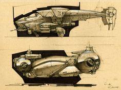 ArtStation - space ship sketches , longque Chen