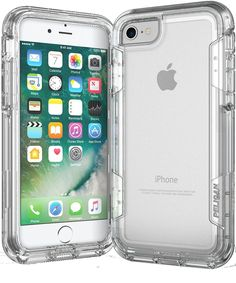 Pelican Voyager Rugged Holster Apple iPhone 7 Case - Clear/Clear