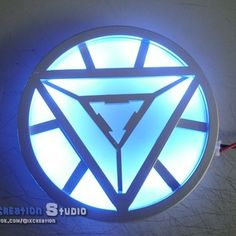 DIY Ironman Arc Reactor, if only I was smart enough