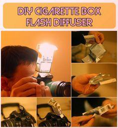 #Diy cigarette box flash Diffuser