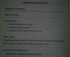 Bob Harpers Balsamic dressing
