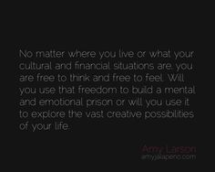 what are you free to do 24/7? (daily hot! quote) http://wp.me/pKYPJ-1D9 #amyjalapeno #dailyhotquote