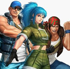 Art Of Fighting, Fighting Games, Snk King Of Fighters, Hottest Anime Characters, Butches, Street Fighter, Resident Evil, Super Powers, Samurai
