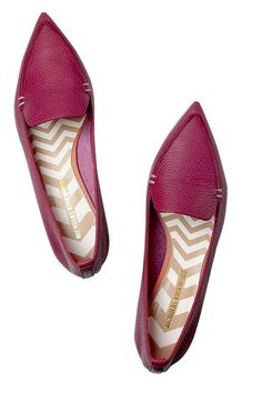 For A Job Interview Ditch the heels, and go for…: Kicks that are just as sophisticated and sleek as a classic pair of pumps. Think pointed-toe, d'orsay, or oxford styles. #refinery29 http://www.refinery29.com/70768#slide-5