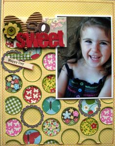Bold Blossoms Nicole Scrapbook Paper layouts - Results For Yahoo Image Search Results