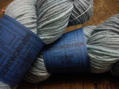 Doctor Who inspired yarn: Screwdriver by Sheepy Time Knits